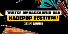 Actio Advocaten is partner van het Kadepop festival
