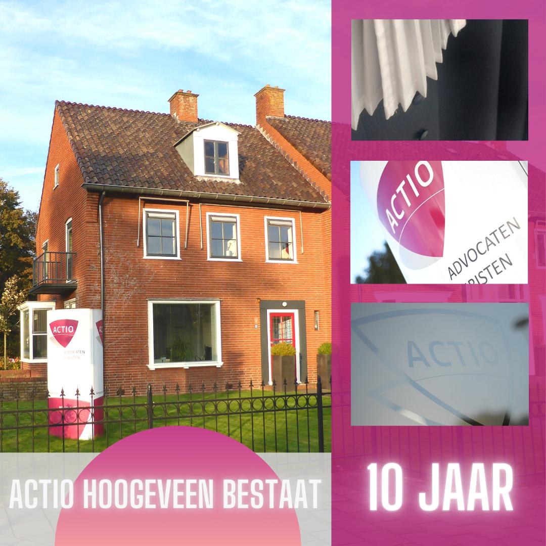 Actio Hoogeveen bestaat 10 jaar
